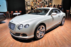 Bentley GT continental en IAA Francfort 2011 fotografía de archivo