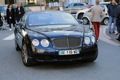 Bentley GT continentale Fotografia Stock Libera da Diritti
