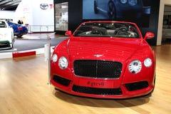 Bentley GT Convertible Royalty Free Stock Photos