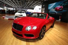 Bentley GT Convertible Royalty Free Stock Photography