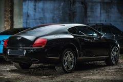 Bentley GT Kontynentalny Coupe Zdjęcia Royalty Free