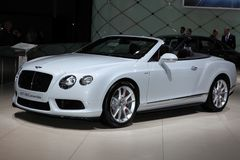 The Bentley GT V8 Convertible Stock Images