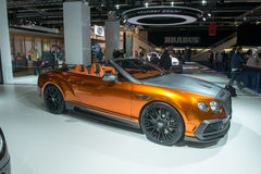 Bentley GTC by Mansory Royalty Free Stock Image