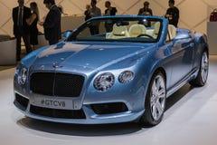 Bentley GTCV8  car on display at the LA Auto Show. Stock Photo