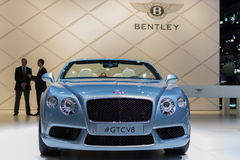 Bentley GTCV8  car on display at the LA Auto Show. Stock Photography