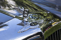 Bentley hood ornament Royalty Free Stock Photography