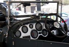 Bentley instrumentbräda 1925 Arkivbilder