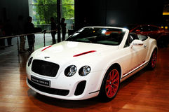 Bentley ISR Supersport (Convertibele Versie) Stock Fotografie