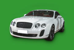 Bentley kontinentala Supersports Arkivfoto