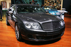 Bentley kontinentale Flugwesen-Sporn-Drehzahl stockfotografie