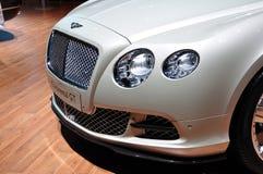 Bentley kontinentales GT auf IAA Frankfurt 2011 Stockbilder