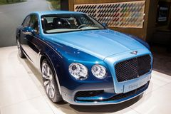Bentley latania ostroga luksusu samochód Obraz Royalty Free