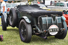 Bentley Lee Mans Serie Race Stockfotografie