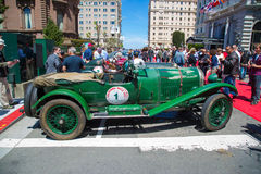 Bentley 1927 3 liter Royaltyfri Fotografi
