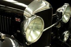 1930 Bentley 4.5liter 'czerni etykietka' Obrazy Royalty Free