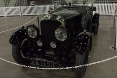 Bentley 4 5 liter op vertoning Royalty-vrije Stock Foto