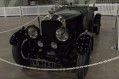 Bentley 4 5 liter op vertoning Royalty-vrije Stock Foto