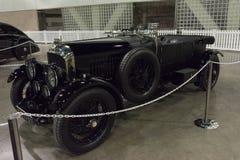 Bentley 4 5 liter op vertoning Royalty-vrije Stock Afbeelding