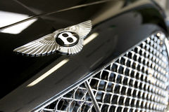 Bentley logo Royalty Free Stock Photo