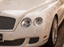 Bentley Luxury bil royaltyfri fotografi