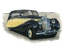 Bentley Mark VI of 1951 Stock Photography