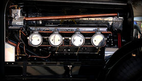 Bentley motor 1925 Royaltyfri Foto