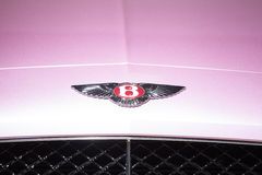 Bentley Motors logo Royalty Free Stock Photography