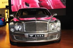 bentley mulsanne Obrazy Stock