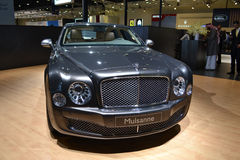 BENTLEY MULSANNE. At Qatar Motor Show Second Exhibition on the 25th of January 2012 stock photo
