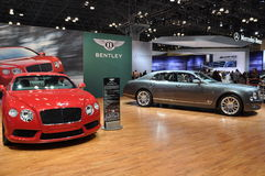 Bentley Mulsanne. NEW YORK - APRIL 11: Bentley Mulsanne at the 2012 New York International Auto Show running from April 6-15, 2012 in New York, NY Royalty Free Stock Photo