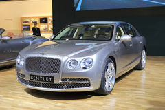 The bentley mulsanne car Royalty Free Stock Image