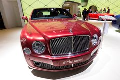 Bentley Mulsanne car Royalty Free Stock Photo