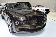 The Bentley Mulsanne car Royalty Free Stock Photo
