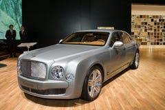 Bentley Mulsanne - de Show van de Motor van Genève 2011 Royalty-vrije Stock Foto's