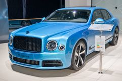 Bentley Mulsanne design series by Mulliner Royalty Free Stock Photo