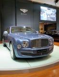 Bentley Mulsanne diamantjubileumupplaga royaltyfri fotografi