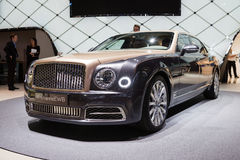 Bentley Mulsanne EWB Stock Photo