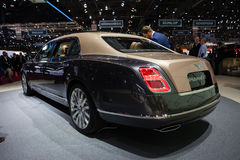 Bentley Mulsanne EWB Stock Image