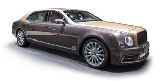 Bentley Mulsanne EWB limousine Royalty Free Stock Image