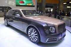 Bentley Mulsanne EWB supercar Royalty Free Stock Photo