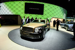 Bentley Mulsanne EWB Royalty Free Stock Photo
