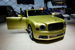 Bentley Mulsanne at Geneva 2016 Royalty Free Stock Photos