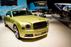 Bentley Mulsanne at Geneva 2016 Stock Photo