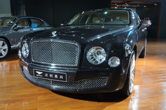Bentley Mulsanne limousine Stock Photography