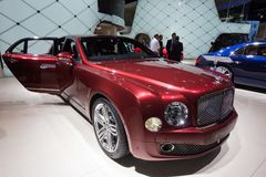 Bentley Mulsanne limousine car Royalty Free Stock Images