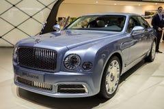 2016 Bentley Mulsanne luksusu samochód Zdjęcia Stock