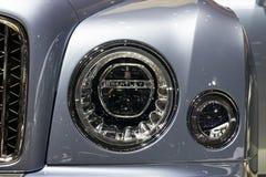 2016 Bentley Mulsanne luksusu samochód Obrazy Stock