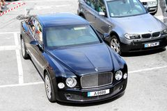 Bentley Mulsanne Royalty Free Stock Photography