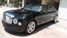 Bentley mulsanne samochód Obraz Royalty Free