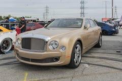 Bentley Mulsanne Sinjari on display Royalty Free Stock Photos